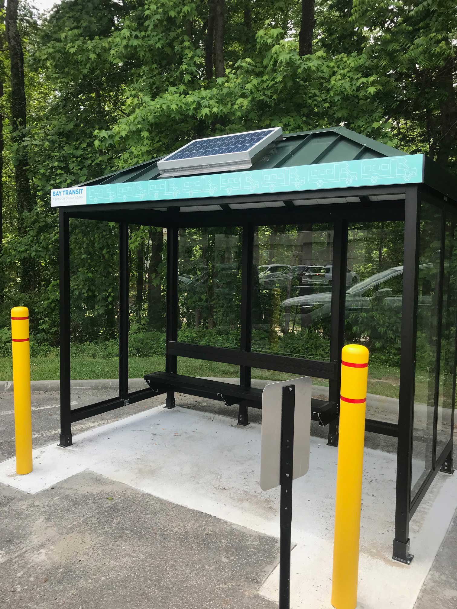 Bay Transit Riverside Hospital Bus Shelter