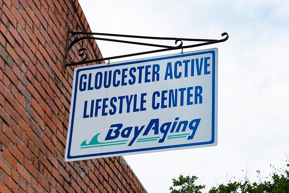 Outdoor sign of Gloucester Active Lifestyle Center