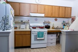 Bay Aging apartment kitchen