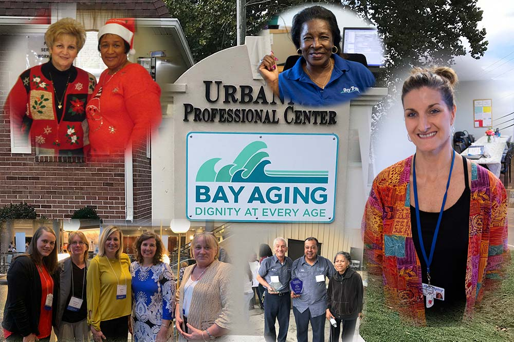 Collage of Bay Aging Management Team