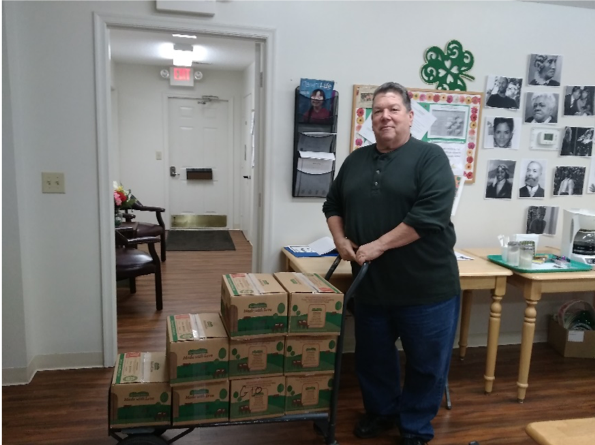Tommy Grimes Meals on Wheels Volunteer 2019