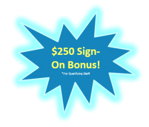 $250 sign on bonus